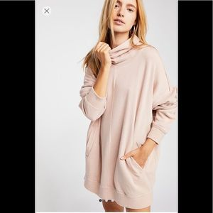 Free People Too Easy Turtle Tunic Dress NWT